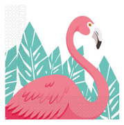 Summer Love Flamingo Servietter - 20stk