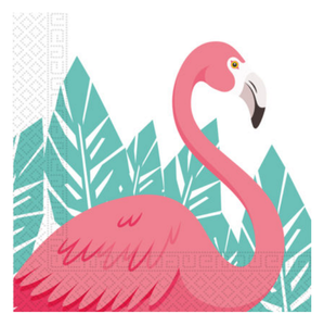 Summer Love Flamingo Servietter - 20stk (126-89594)
