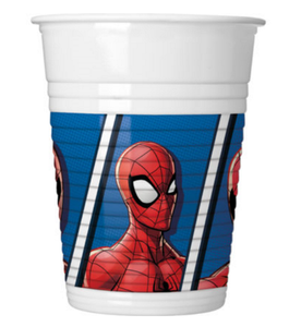 Spiderman Team Up Plastkopper,  200ml (8 stk) (126-89447)