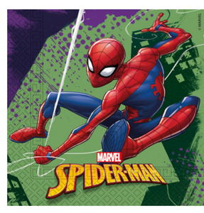 Spiderman Team Up Servietter - 20 stk (126-89448)