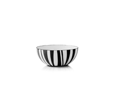 Cathrineholm Stripes Bolle Sort, 10cm