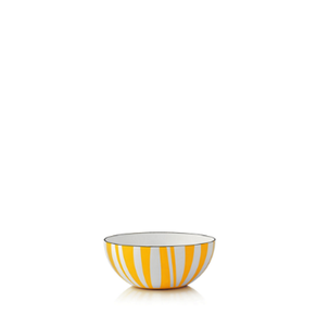 Cathrineholm Stripes Bolle Gul, 10cm (364-100379505)