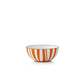Cathrineholm Stripes Bolle Orange, 10cm