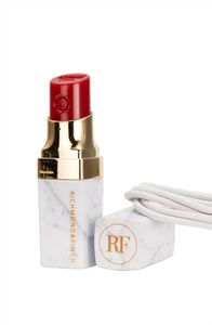 Richmond & Finch Lipstick PowerBank,  Hvit Marmor (407-LIPSTICK-014)