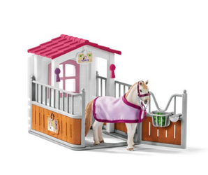 Schleich Stall med Lusitano Hoppe