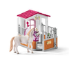 Schleich Stall med Lusitano Hoppe (125-42368)