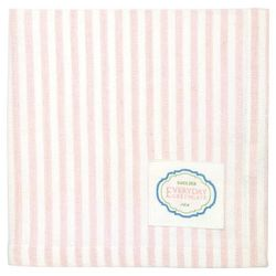 GreenGate Alice Stripe Serviett, Rosa