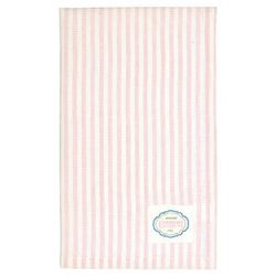 GreenGate Alice Stripe Kopphåndkle, Rosa