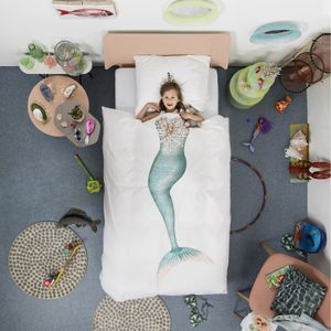 SNURK Sengesett Mermaid 140x200cm (501-snurk-mermaid)