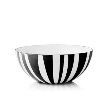 Cathrineholm Stripes Bolle Sort, 24cm (364-100353122)