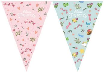 Prinsesse Dear to Dream Flaggbanner med 9 flagg