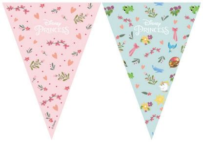 Prinsesse Dear to Dream Flaggbanner med 9 flagg (126-89222)