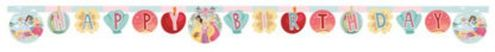 "Prinsesse Dear to Dream ""Happy Birthday""- banner (1stk) (126-89226)"