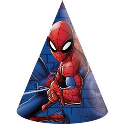 Spiderman Team Up Festhatter m/motiv (6 pk)