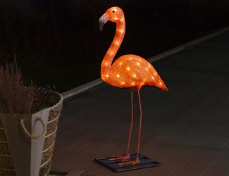 Konstsmide Flamingo 65cm, 48 LED