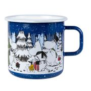 Mummi Emaljekrus Winter Forest Large_8dl