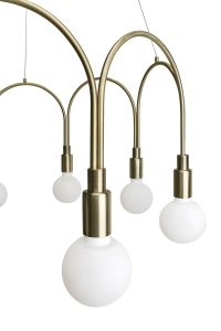 Globen Lighting Lampependel Arch Messing (205-277065)