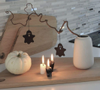 Felius Design Halloween Spøkelse Sort 2 stk (423-HSGS2)