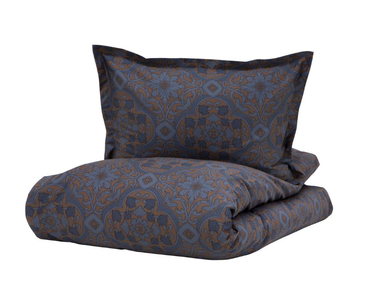 "Halvor Bakke Sengesett ""Sir William"" Vintage-Indigo_140x220cm (479-109955)"