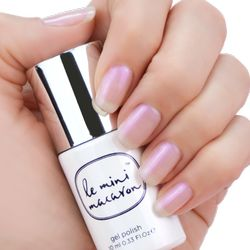 Le Mini Macaron Single Gel Polish, Pearlescence