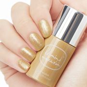 Le Mini Macaron Single Gel Polish_Gold Glitter