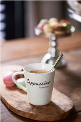 Riviera Maison Klassisk Cappuccino Kopp H9cm