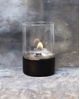Tenderflame Glasslampe Tower 10cm Sort (513-100304)