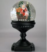XMAS Collection Lanterne Kule m/LED-lys Julenisse