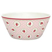 GreenGate Bambus Strawberry Bolle Rosa_Ø14.7cm
