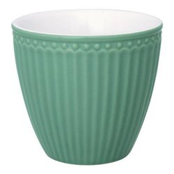 GreenGate Alice Latte Kopp_Dusty Green
