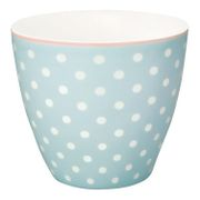 GreenGate Spot Latte kopp_Pale Blue