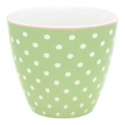 GreenGate Spot Latte kopp_Pale Green