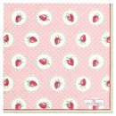 GreenGate Strawberry Servietter 20stk