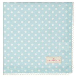 GreenGate Spot Serviett/ Brikke_Pale Blue
