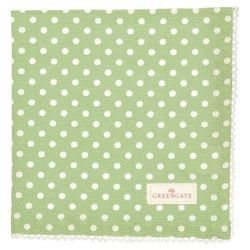GreenGate Spot Serviett/ Brikke_Pale Green