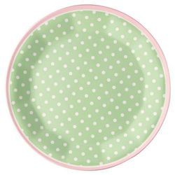 GreenGate Spot Tallerken Pale Green