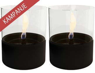 Tenderflame Kampanje: Lilly Sort 2pk+TenderFuel