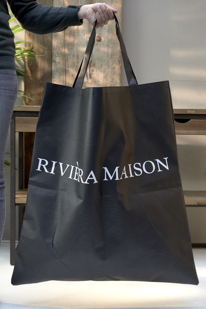 "Riviera Maison Shoppingbag ""Size does matter"" (443-412750)"