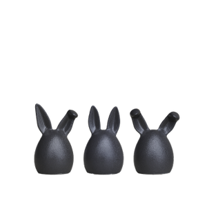 dbkd Easter Rabbit Triplets Iron (402-20190201c)