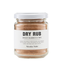 Nicolas Vahé Dry Rub Sweet BBQ-Mix