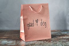 Trend Design Gavepose Papir Glad-i-deg Medium
