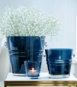 Jan Thomas The Bucket Telyslykt RoyalBlue_9.5cm