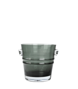 Jan Thomas The Bucket Stormlykt/Vase SoftGrey_16cm