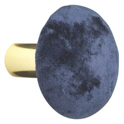 Cozy Living Velvet Fløyelsknagg Royal-Blue Small