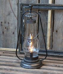 Chic Antique LED-lanterne Fransk Antikk, H36cm_(batteri)