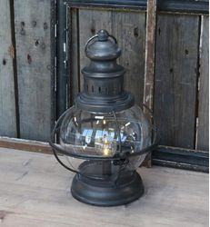 Chic Antique LED-lanterne Fransk Antikk,  H29cm_(batteri)