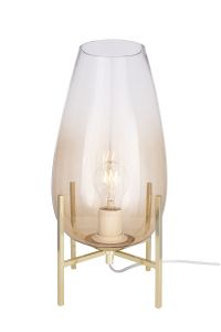 Globen Lighting Bordlampe Tulip Amber H33cm (205-610954)