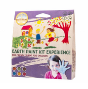 Natural Earth Paint Fingermaling,Experience