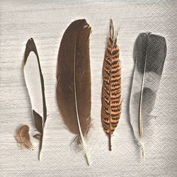 Broste Copenhagen Serviett Feather