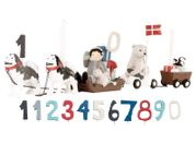 Kids by Friis Bursdagstog med tall, Hundeslede (533-FR22024)